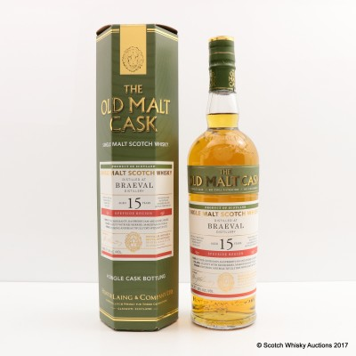Braeval 2001 15 Year Old Old Malt Cask