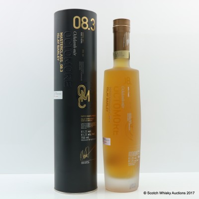 Octomore 8.3 5 Year Old Masterclass