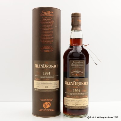 GlenDronach 1994 20 Year Old single Cask #3400 For Abbeywhisky.com
