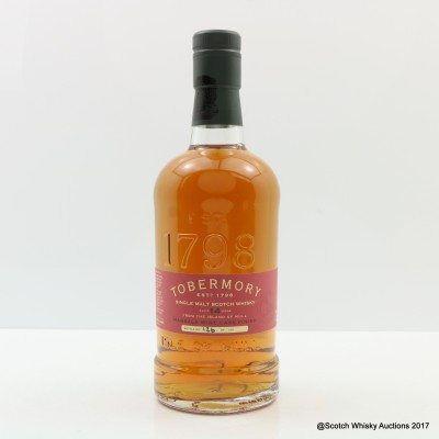 Tobermory 14 Year Old Marsala Finish Distillery Exclusive