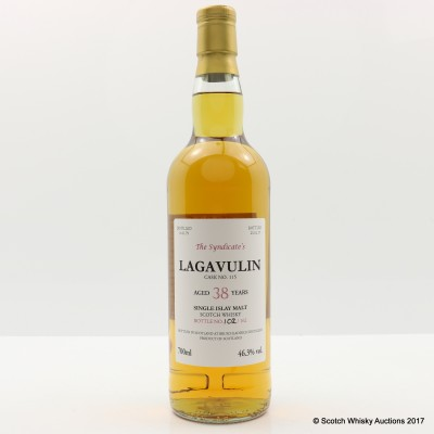 Lagavulin 1979 38 Year Old The Syndicate's Bottling