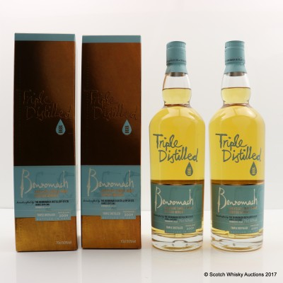 Benromach 2009 Triple Distilled 2 x 70cl