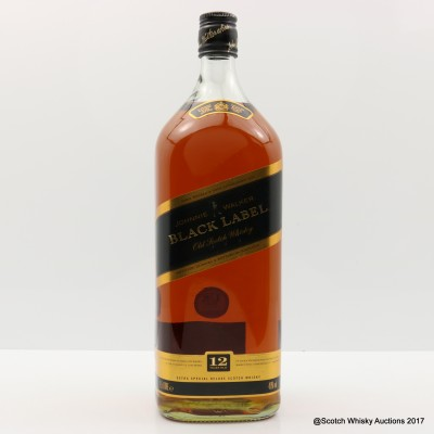 Johnnie Walker 12 Year Old Black Label 1.5L