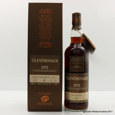 GlenDronach 1972 43 Year Old Single Cask #706