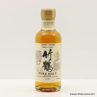 Nikka Taketsuru Pure Malt 17 Year Old 18cl