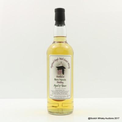 Ben Nevis 1996 17 Year Old Whisky Broker