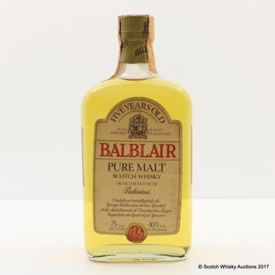 Balblair 5 Year Old 75cl