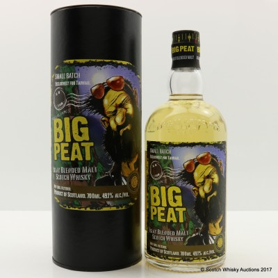 Big Peat Small Batch Release Taiwan Exclusive