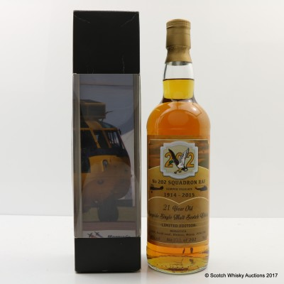 Speyside 21 Year Old Single For No 202 Squadron RAF