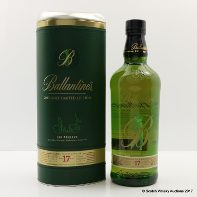 Ballantine's 17 Year Old 2015 Golf Limited Edition