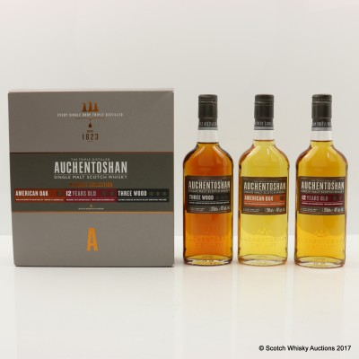 Auchentoshan Ultimate Collection 3 x 20cl
