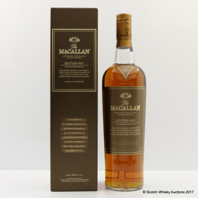 Macallan Edition No1 75cl