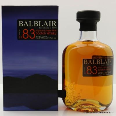 Balblair 1983 1st Release