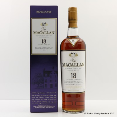 Macallan 18 Year Old 1991 75cl