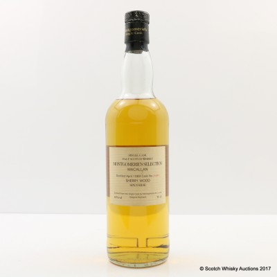 Macallan 1989 Montgomerie's Selection