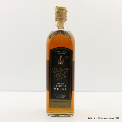 Victoria Club 5 Year Old 75cl