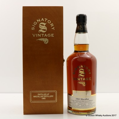 Macallan 1965 35 Year Old Signatory