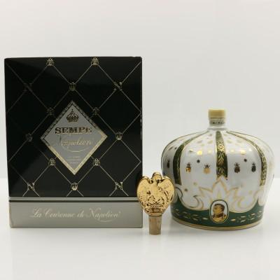 Sempe Napoleon Armagnac Porcelain Decanter 75cl