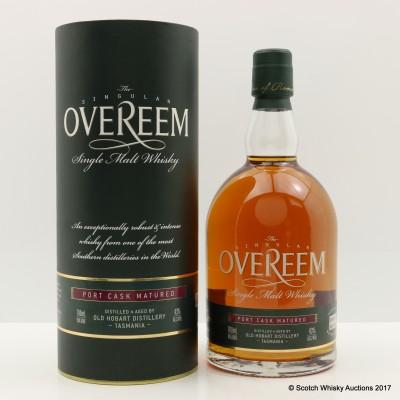 Overeem Port Cask Matured Bottle Number 1