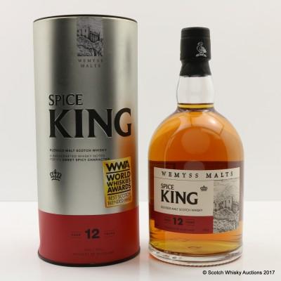 Spice King 12 Year Old Wemyss Malts