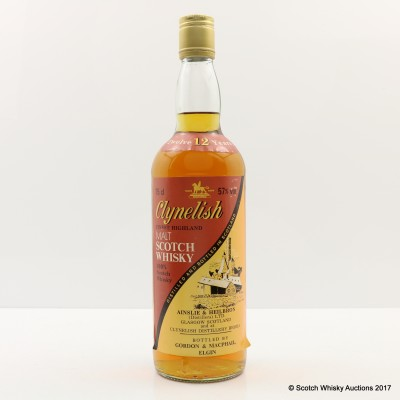 Clynelish 12 Years Old Gordon & MacPhail 75cl