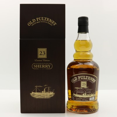 Old Pulteney 23 Year Old Limited Edition Sherry Cask