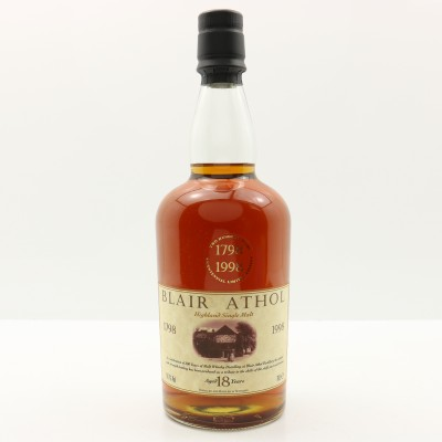 Blair Athol 18 Year Old Bicentenary