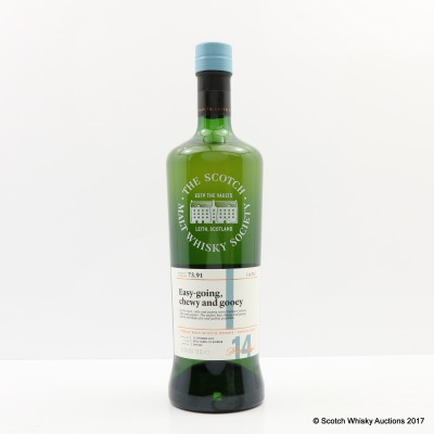 SMWS 73.91 Aultmore 2002 14 Year Old