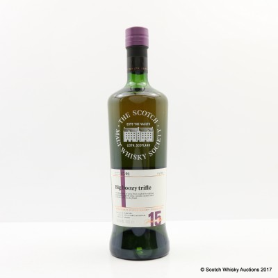 SMWS 37.91 Cragganmore 2001 15 Year Old