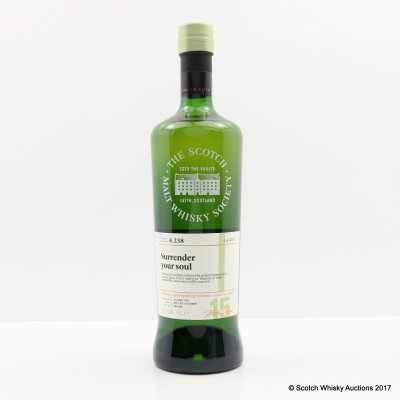 SMWS 4.238 Highland Park 2001 15 Year Old
