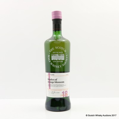 SMWS 73.93 Aultmore 1999 18 Year Old