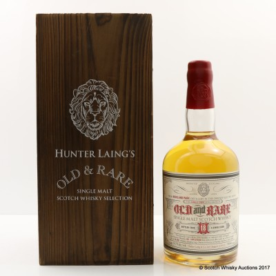 Highland Park 18 Year Old Old & Rare