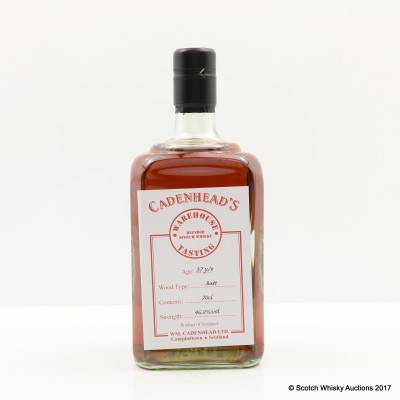 37 Year Old Blend Cadenhead's Warehouse Tasting