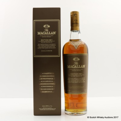 Macallan Edition No1
