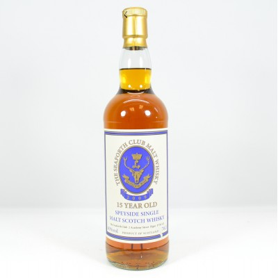 Seaforth Club Malt Whisky 15 Year Old