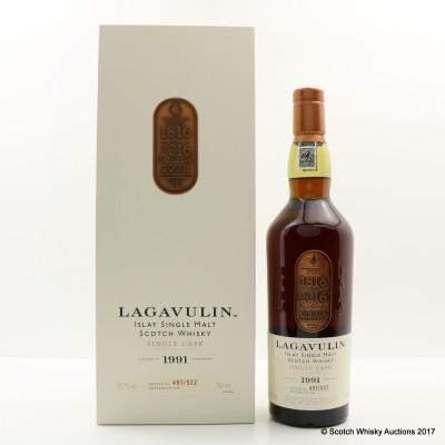 Lagavulin 1991 Single Cask 200th Anniversary Edition