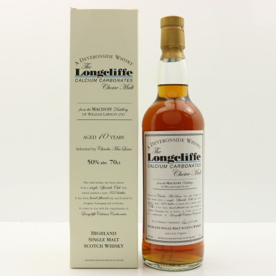 MacDuff 10 Year Old Longcliffe Calcium Carbonates Choice Malt