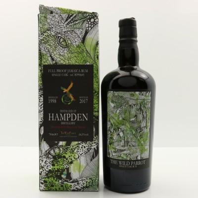 Hampden 1998 Wild Parrot Rum For La Maison Du Whisky