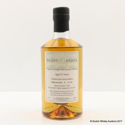 Ben Nevis 1996 21 Year Old Whisky Broker