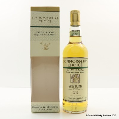 Speyburn 1977 Connoisseurs Choice