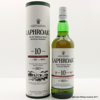 Laphroaig 10 Year Old Cask Strength Batch #8