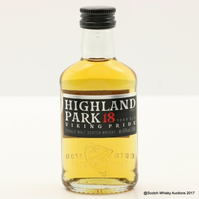 Highland Park 18 Year Old Viking Pride Mini 5cl