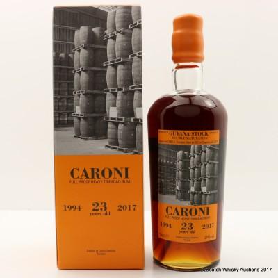 Caroni 1994 23 Year Old Heavy Trinidad Rum 37th Release