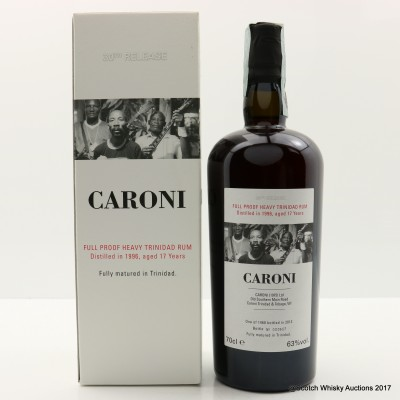 Caroni 1996 17 Year Old Heavy Trinidad Rum 30th Release