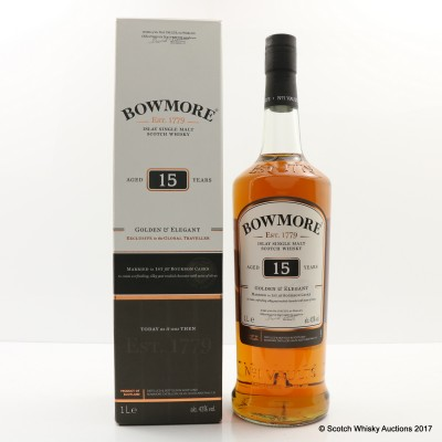 Bowmore 15 Year Old Travel Retail Exclusive 1L