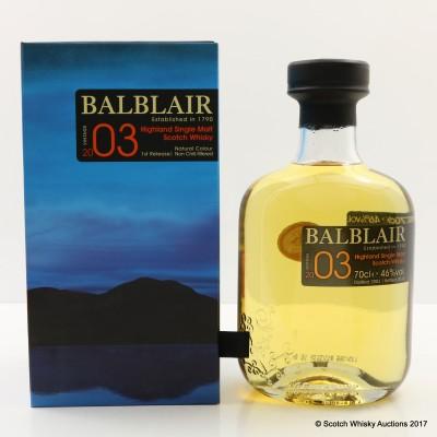 Balblair 2003 Vintage 1st Release