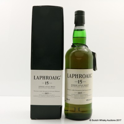 Laphroaig 15 Year Old 75cl