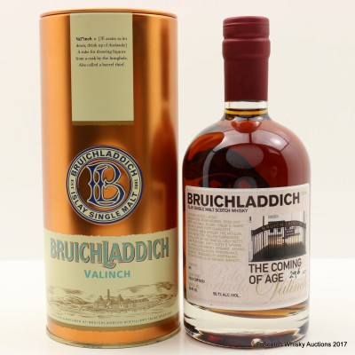 Bruichladdich Coming of Age Valinch