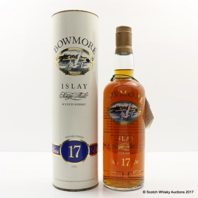 Bowmore 17 Year Old Screen Print 75cl