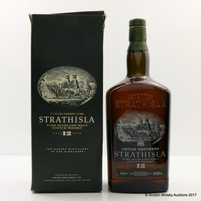 Strathisla 12 Year Old Old Style 1L